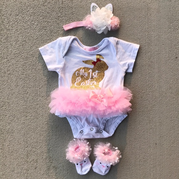2a9181d70 ... First Easter Glitter Tutu Matching Set. M_5b70e184477368c8e80c14b4.  Other Matching Sets you may like. Bonnie Baby and POPATU outfits